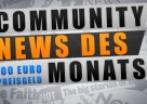 Community News des Monats just mmo